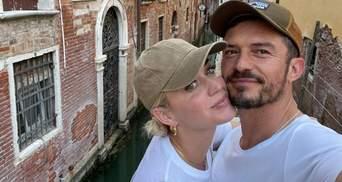 Кэти Перри и Орландо Блум поехали в Италию: их застали за романтическими поцелуями