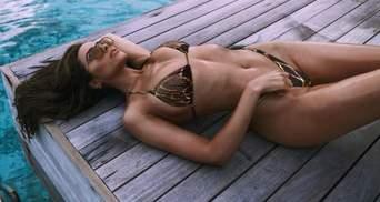 Мисс Вселенная в крошечном купальнике лишила подписчиков сна: соблазнительные фото