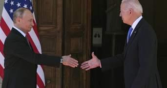 Путін мав розгублений вигляд, – у Зеленського висловилися про зустріч з Байденом