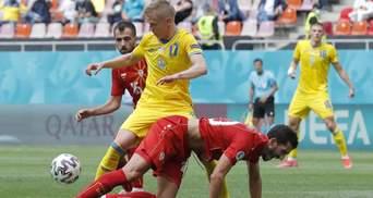 Манчестер Сити поздравил Зинченко с дебютной победой Украины на Евро-2020
