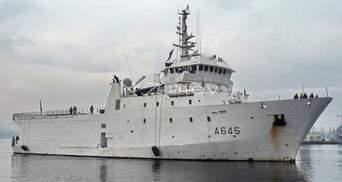 У Чорне море увійшов розвідувальний корабель Франції
