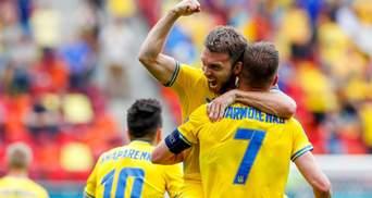 Украина прервала серию поражений на Евро после игры против Северной Македонии