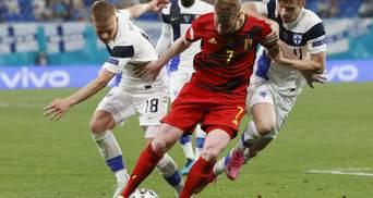 Бельгия дожала Финляндию в матче с автоголом вратаря: видео