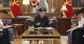 Лідер Північної Кореї публічно визнав, що в країні не вистачає їжі