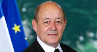 Умови для вступу України в НАТО наразі не склалися, – глава МЗС Франції