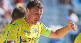 Пляжный футбол: сборная Украины совершила камбэк и выиграла по пенальти во втором матче Евролиги