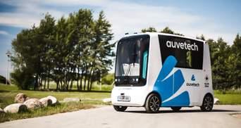 Вперше у світі: на дороги Естонії виїдуть безпілотні авто на водневому паливі