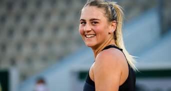 18-летняя украинская теннисистка Костюк преодолела отметку в один миллион долларов призовых