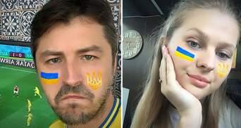 Притула до матчу Україна – Австрія створив яскраву патріотичну маску