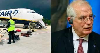 Расплата за авиатерроризм: ЕС не исключает новые санкции против Беларуси