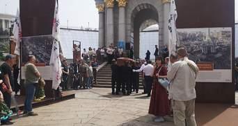 У Києві попрощалися з відомим українським блогером Горьким Луком