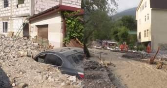 """Як після апокаліпсису: ялтинське селище """"затопило"""" камінням і сміттям"""