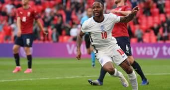 Англія завдяки Стерлінгу перемогла Чехію та вийшла у плей-офф Євро-2020: відео