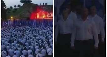 Напоминает балл у Воланда: ОПЗЖ устроила странный марш – видео