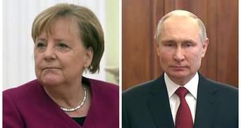 Спрашивала о встрече с Байденом: Меркель поговорила с Путиным