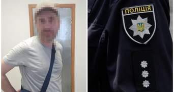 Во Франковске мужчина с ножом нападал на людей: его задержали