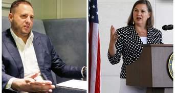 Ермак обсудил с Нуланд детали будущего визита Зеленского в США