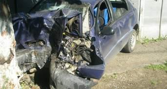 Погиб на месте ДТП: на Львовщине водитель Daewoo влетел в дерево