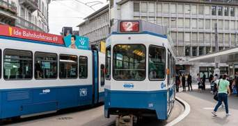 Не помітили: трамвай з мертвим пасажиром 6 годин їздив у швейцарському Цюріху