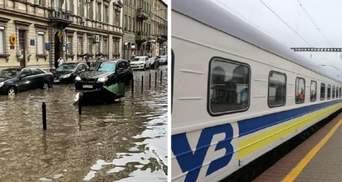 Через негоду поїзди масово затримуються: які та на скільки