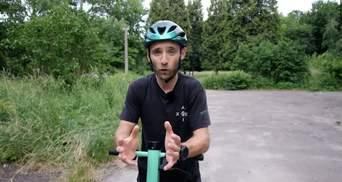Професійний велосипедист VS прокатний електросамокат: хто кого – відео
