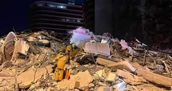 Обвал будівлі у Маямі: кількість жертв зросла до 5 людей