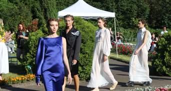 Лето, мода, джаз: Оксана Караванская во Львове презентовала новую коллекцию