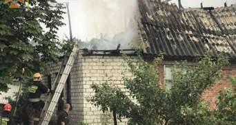 На Черниговщине молния попала в 2 дома