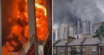 Потужний вибух прогримів у метро Лондона: моторошні фото та відео