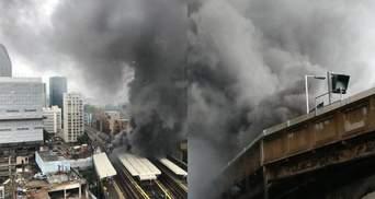 Масштабный пожар в Лондоне удалось локализовать: есть пострадавшие