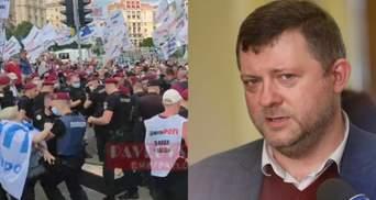 """Вони часто маніпулюють і перекручують, – """"Слуга народу"""" Корнієнко про протести ФОПів"""