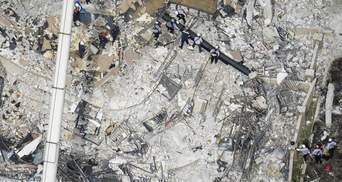 Кількість жертв внаслідок обвалу будинку в Маямі знову зросла: туди прибуде Байден