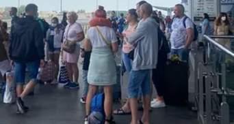 """В аэропорту """"Борисполь"""" задерживают 5 рейсов в Анталию"""