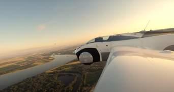 Літаюче авто AirCar виконало перший в історії міжміський рейс: захопливе відео