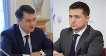 """""""Черная кошка"""" между Разумковым и Зеленским: что не так в отношениях спикера и президента"""