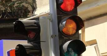 Не працюють світлофори кількох вулиць Києва: де високий ризик ДТП