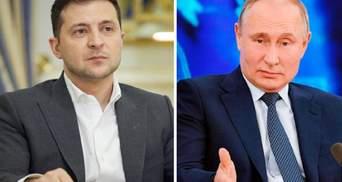 Никакой подготовки нет, – Кремль о встрече Зеленского и Путина