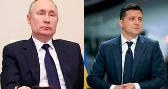 Банальні виверти, – у Зеленського відповіли Кремлю щодо зустрічі з Путіним