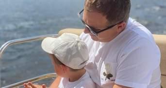 Юрий Горбунов показал, как проводит лето с сыном: забавное фото