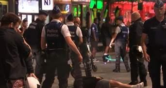 Поразка Бельгії на Євро-2020: у Брюсселі масові заворушення, у хід пішли водні гармати