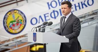 """Зеленский прибыл в Одессу и поздравил с Днем ВМС: о """"Си Бриз"""" и первом украинском корвете"""