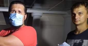 """Патрульні зупинили скандального """"слугу"""" Брагара: той написав на них заяву – відео"""