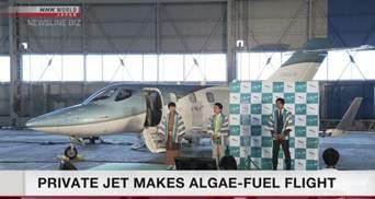 З морських водоростей: у Японії здійнявся у небо приватний літак на інноваційному пальному