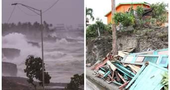 """Сильний вітер і величезні хвилі: шторм """"Ельза"""" тероризує Кубу – приголомшливі фото"""