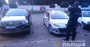 В Черкассах иностранцы поссорились  и устроили стрельбу: фото