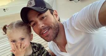 Энрике Иглесиас показал фанатам своих подрастающих детей: милые кадры