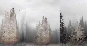 Відновлює ліс і розкладається: архітектор представив проєкт унікального хмарочоса