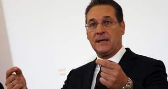 Ексвіцеканцлера Австрії судитимуть за ймовірний хабар на 10 тисяч євро