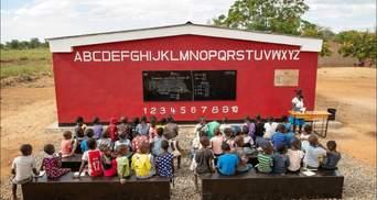 В Африці цілу школу надрукували на 3D-принтері