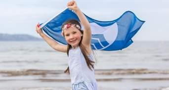 Пляжи Украины с голубым флагом: список и карта